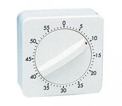 Interval timer with alarm