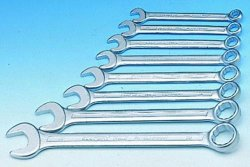 OPEN END/RING WRENCH SET ELORA 3S-8M