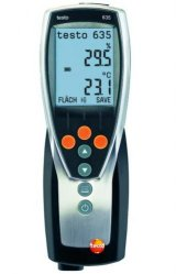 High accuracy thermohygrometer testo 635