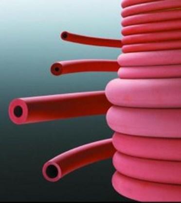 Slika RUBBER TUBE 5X2MM RED