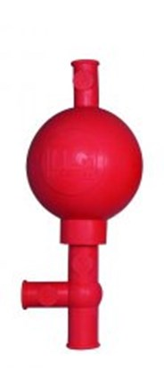 Slika LLG-Safety pipette bulb, rubber, red