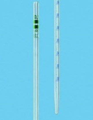 Slika Graduated pipettes AR-GLAS<SUP>&reg;</SUP>, class A, type graduated to contain, blue graduations