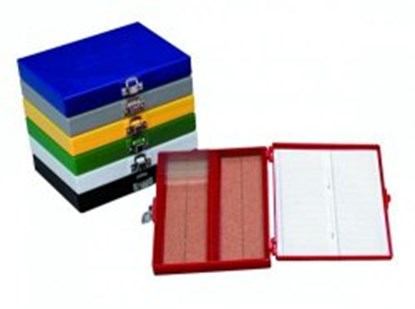 Slika Durable microscope slide boxes