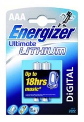 Slika Lithium batteries, Energizer