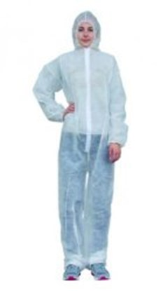 Slika LLG-DISPOSABLE PROTECTIVE SUITS, SIZE XL
