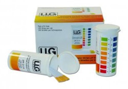 Slika LLG-Universal Indicator strips <I>&quot;Premium&quot;,</I> in vial with snap lid