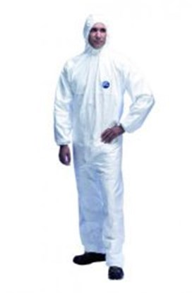 Slika Disposable Chemical Protection Coverall Tyvek<SUP>&reg;</SUP> 500 Xpert, Type 5/6