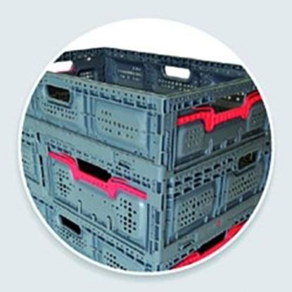 Slika FOLDABLE BOX MAXI, ACTIVE LOCK 18, BLUE