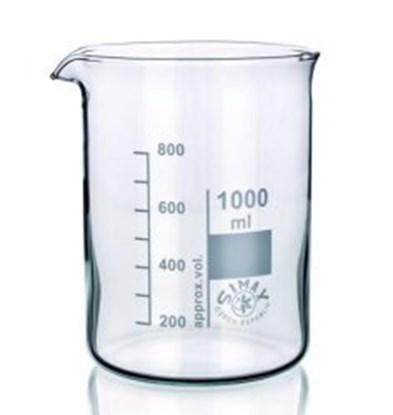 Slika Beakers, Borosilicate glass 3.3, low form