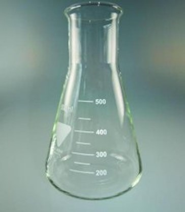 Slika Erlenmeyer flasks, Borosilicate glass 3.3, wide neck