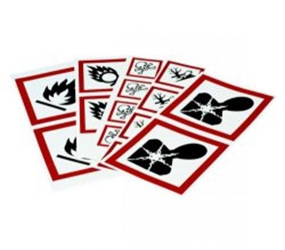 Slika Hazard labels (GHS)