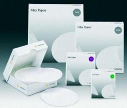Slika Filter paper, quantitative, Grade 392 - red spot, circles and sheets