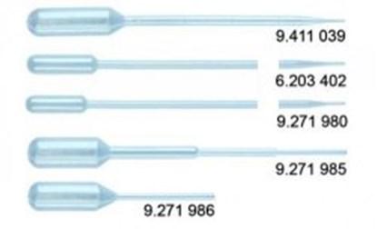 Slika PASTEUR PLAST PIPETTES 0.5 - 2.5 ML