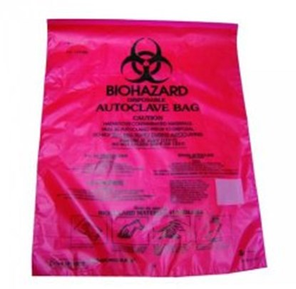 Slika BIOHAZARD DISPOSAL BAGS,PE-HD,220X280 MM
