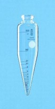 Slika ASTM centrifuge tube, cylindrical, with conical base, borosilicate glass 3.3