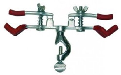 Slika Burette clamps, nickel plated brass