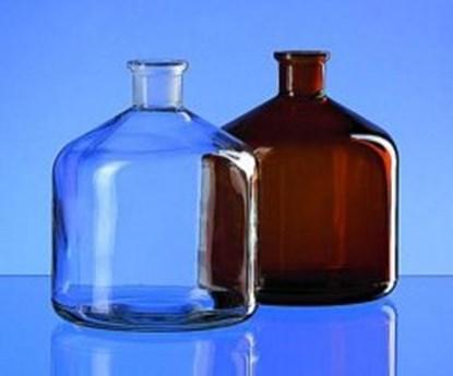 Slika BOTTLES, SODA LIME GLASS, 2000 ML, BROWN