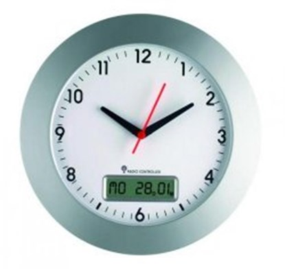 Slika Radio controlled wall clock