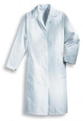 Slika Ladies laboratory coat Type 81509, 100% cotton