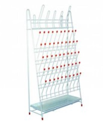 Slika LLG-Draining racks, PE-coated wire