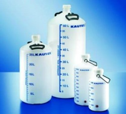 Slika Aspirator bottles, series 350, PE-HD