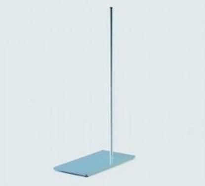 Slika Rectangular retort stand bases, enamel, coated steel plate