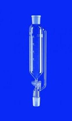 Slika Dropping funnels, cylindrical, with pressure equalizing tube, borosilicate glass 3.3