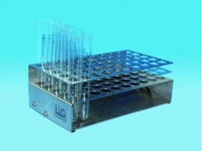 Slika LLG-Test tube racks, self-aligning, stainless steel