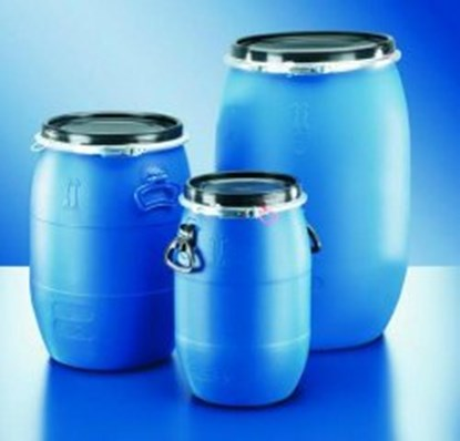 Slika BARRELS,PE-LD,WITH STANDARD LID AND CLAM
