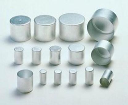 Slika Aluminium caps, pure aluminium