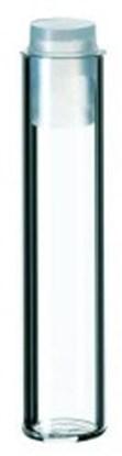 Slika FLAT BOTTOM GLASSES 1 ML, 35X7.8 MM