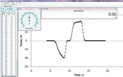 Slika Data transfer software AFH FAST for Digital force gauge FH-S