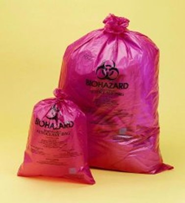 Slika BEL-ART-WASTE BAGS BIOHAZARD 36X48cm, pack of 200