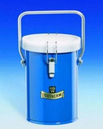 Slika Dewar carrying flasks, cylindrical, for CO<SUB>2</SUB> and LN<SUB>2</SUB>