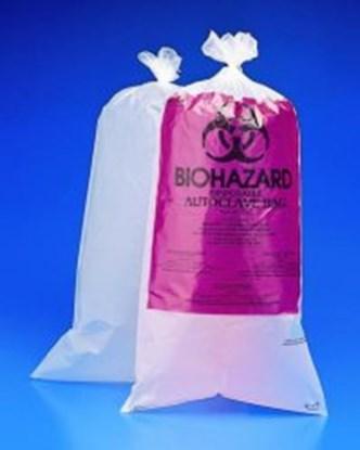 Slika Biohazard waste bags, PE-HD