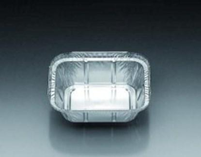Slika Aluminium containers, square