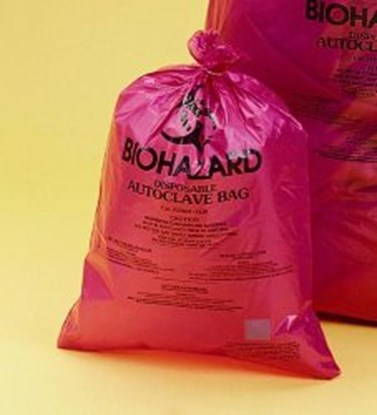 Slika Biohazard Disposal Bags, Super Strength, PP, 50µm