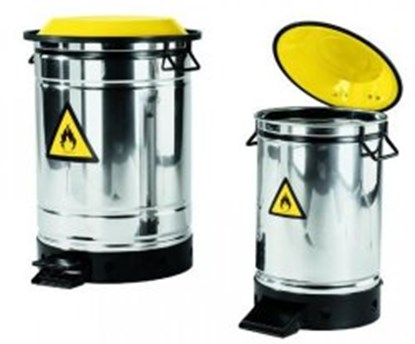 Slika Disposal bin, stainless steel