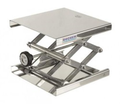 Slika Laboratory jacks, 18/10-stainless steel