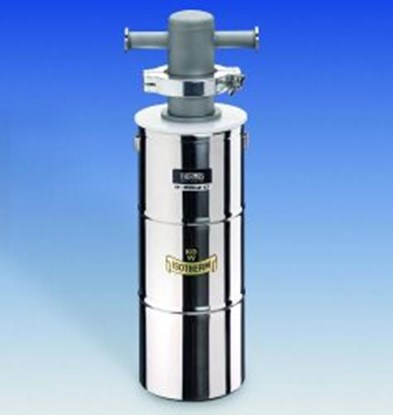 Slika Cold traps with Dewar flask, stainless steel