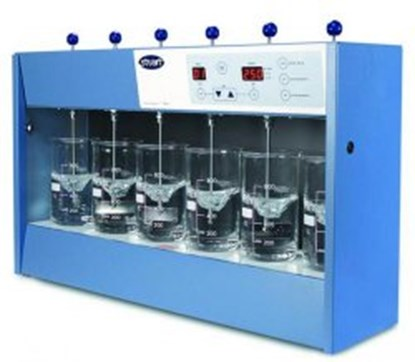Slika FLOCCULATOR WITH 6 PLACE (WITHOUT BEAKER