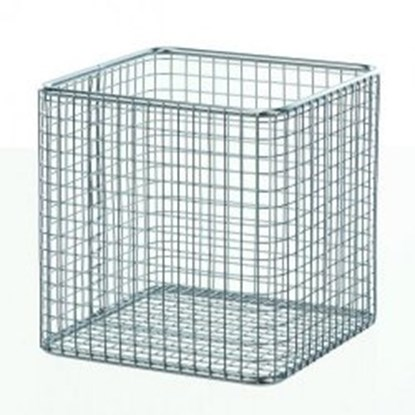 Slika Wire baskets square, stainless steel