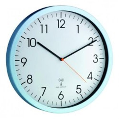 Slika FUNK WALL CLOCK, LIGHT BLUE